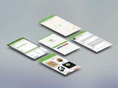 Barakah Mall (Services provide) mobile app