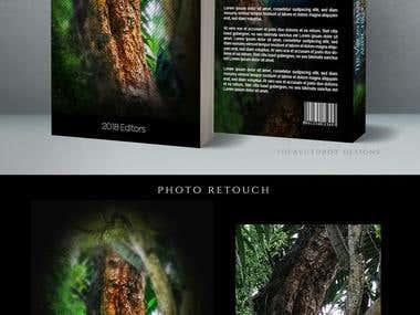 Cover Book Design - Photo edition