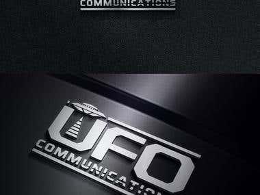 """LOGO """"u.f.o. communications"""""""