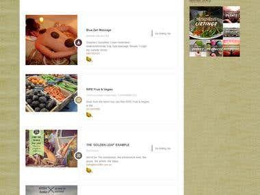 Website Build for Community