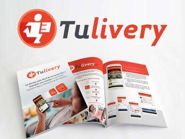 Corporate Identity of Tulivery App