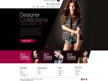 Mobile application for Fashion