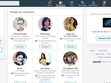 LinkedIn Lead Collection