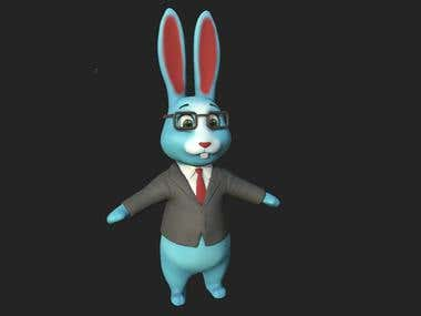 3D stylized Character