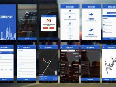 Teleport (Cargo Shipping App)