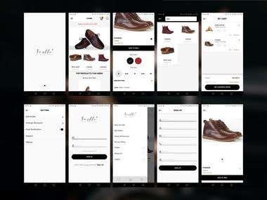 Soulle Signature (Leather Shoes Selling App)