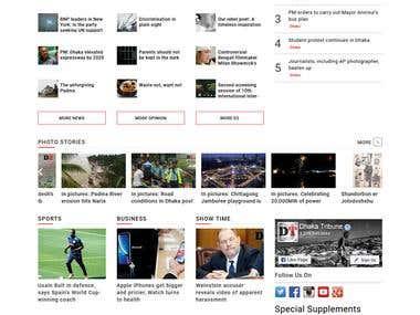 Online News Paper