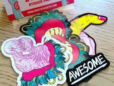 Stickers merchandise