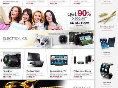 Marketplace web applications
