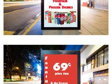 Street Advertisement