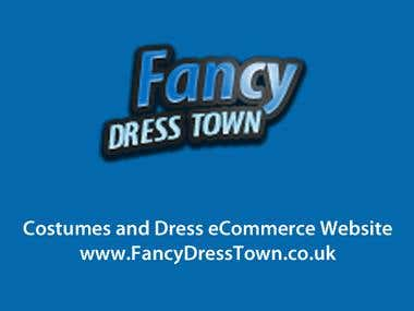 Fancy Dress Town | Costumes eCommerce Website