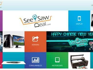 Website for Seesawdeal