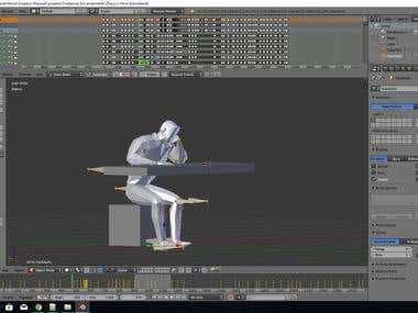 Character Rig and Animation