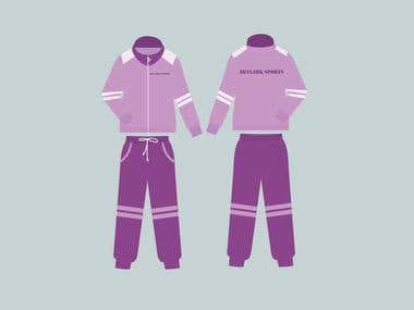 Track Suit Design