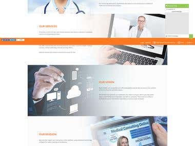 Appoitment booking, Find a doctor, e-medical records