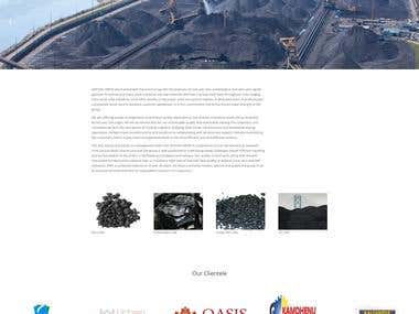 Coal and energy sector website
