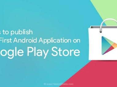 Upload Your Android App on Google Play Store(Step-by-Step)