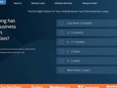Fast online Business loan website