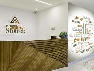 Graphic design- Space branding