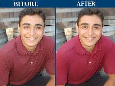 Photo Retouching & Color Correction Service
