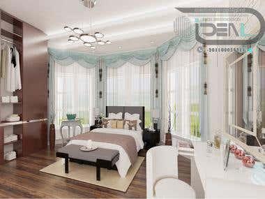 Modern First Floor Bed Room Of Villa Khattab