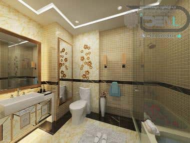Bath Room Of Master Bed Room