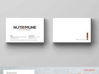 Visual Identity - Nutrimune, Gestão e Marketing