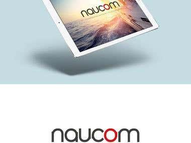 Visual Identity - Naucom, Equip. de Navegação e Telecom.