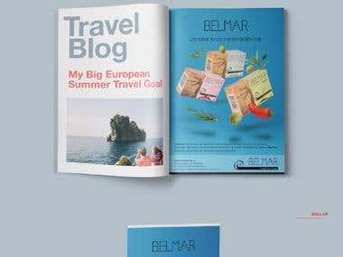 Brand Identity - Belmar, Gourmet from Portugal