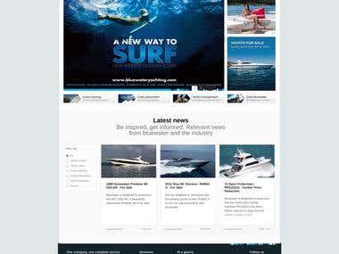 Blue Water Website