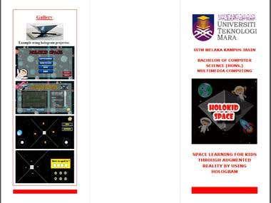 Brochure Holokid Space