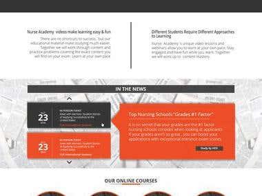 Web Designing Project