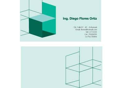 Diego Flores - Brand Card