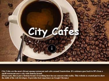 Local Business Website Design Sample