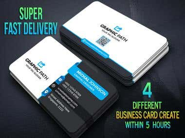 Business cards design ..