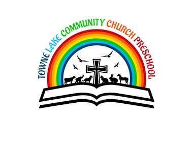 TOWNE LAKE COMMUNITY CHURCH PRESCHOOL LOGO