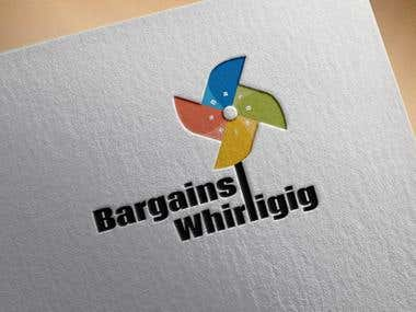 Bargains whirligig logo