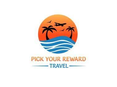 pick your travel logo