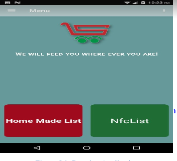 Online Android Application for grocery shop