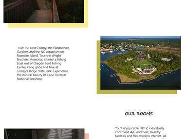 Redesign website of Islander motel.