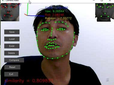 Face recognition, OpenCV/C++