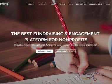 THE BEST FUNDRAISING & ENGAGEMENT PLATFORM