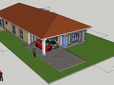SINGLE STOREY SIMPLE BUNGALOW (LANDED)