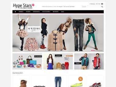 Hypestars.nl (opencart)