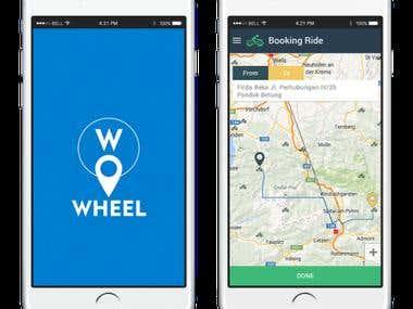 Wheel- Ride Sharing Application