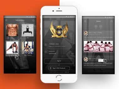 WFC- Fitness Social App