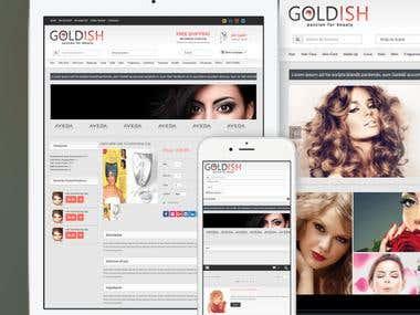 Goldish - Online Shopping Website