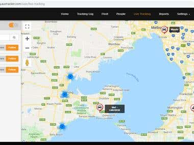 Fleet & GPS Tracking System - IoT