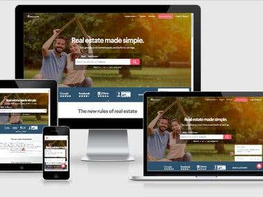 Beycome - A Real Estate Website