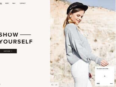 Alissa - online store screen